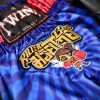 Killer Bees Blue Muay Thai Shorts