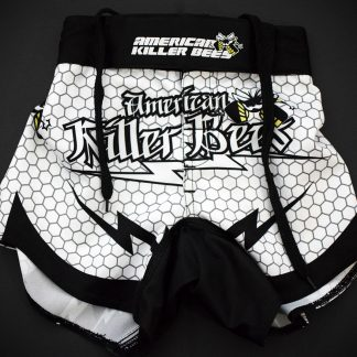 Hive White Muay Thai Shorts