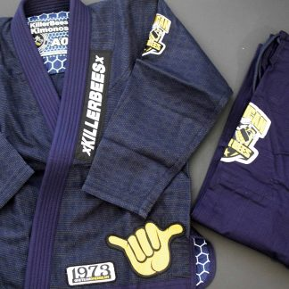 Killer Bees Adult Blue Gi