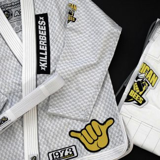 Killer Bees Adult White Gi